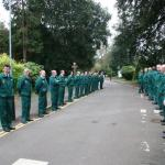Guard of Honour, St James Hospital, Portsmouth.