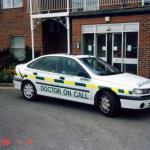 Doctor On Call Vehicle.