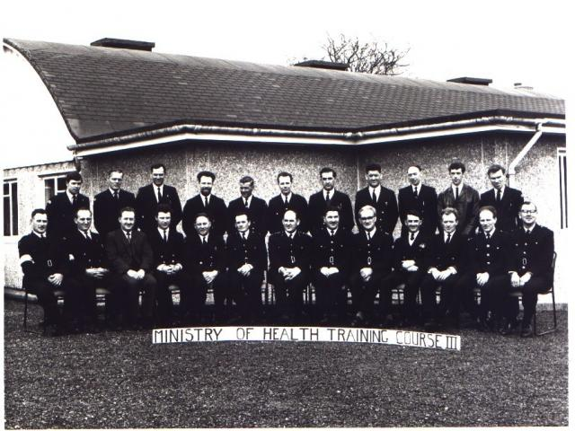 Ministry of Health Experimental Training Course lll. March 1968.