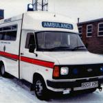 Ford Transit Emergency Ambulance.
