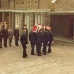 Tom Ward Funeral.  Portchester, May 4th, 1982.