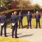 Tom Ward Funeral. Portchester, May 4th 1982. Pall Bearers.