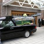 The Hearse Arrives.