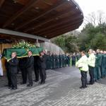 Ambulance Service Personnel Pay Respect.