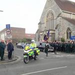 Ambulance Service Colleagues Pay their Respects.