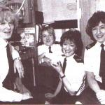 Control girls. L to R. Caroline, Barbara, Sharon, Loretta.