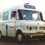 Bedford Royal Navy Ambulance 15 RN 81.