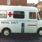 Royal Navy Ambulance 15 RN 81.