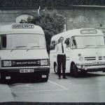 Two Royal Naval Ambulances.